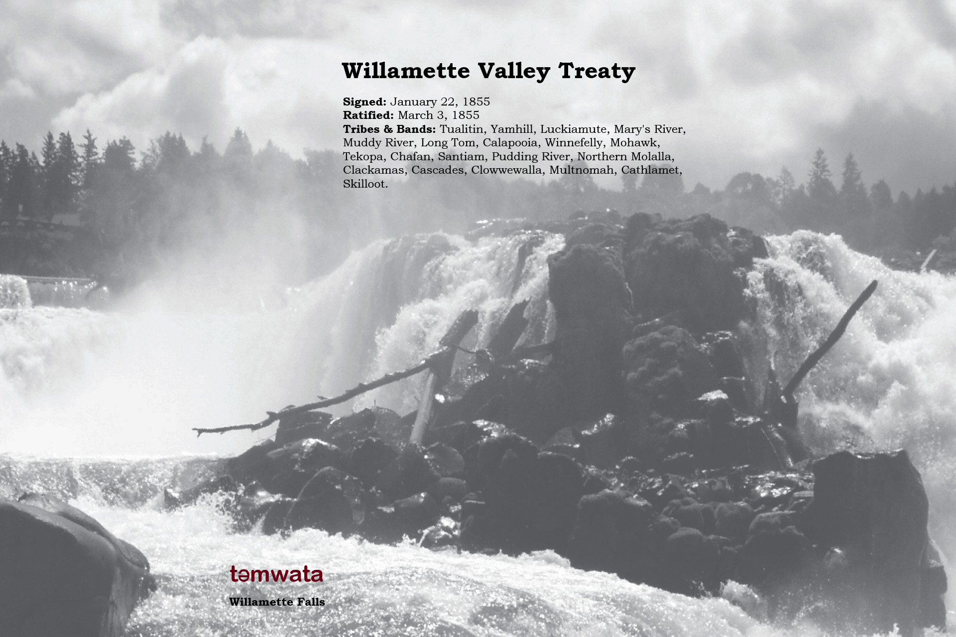 Willamette Valley Treaty 1855