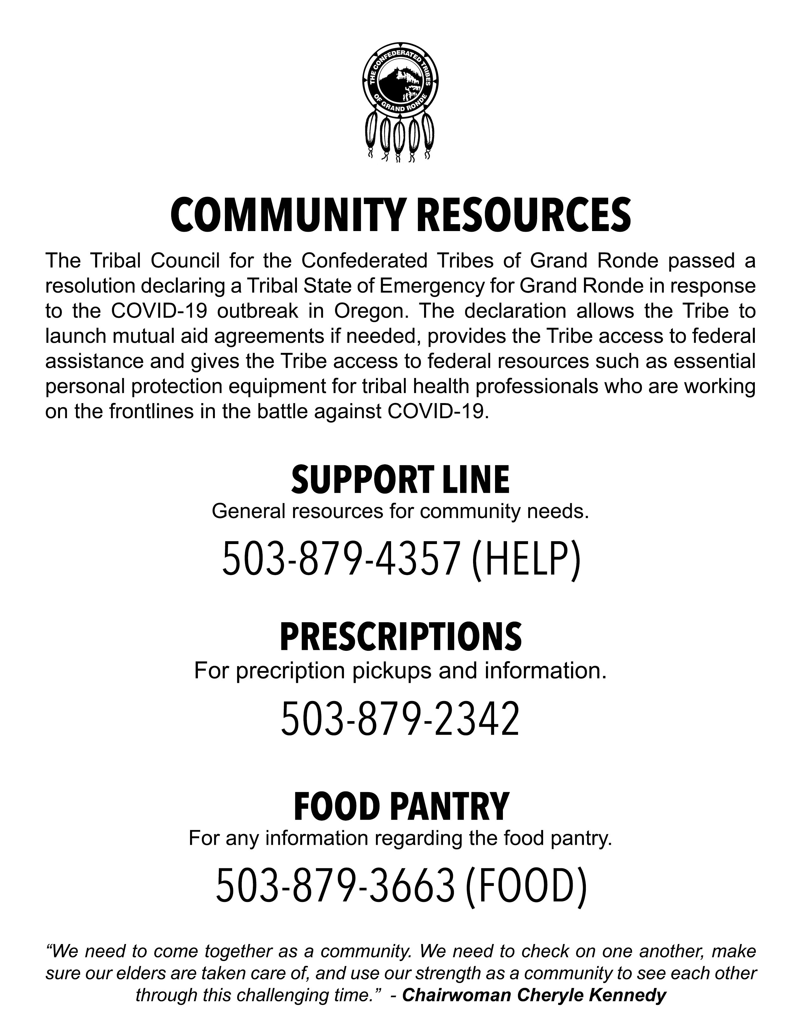 Community Resource Flyer Final